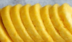 菠萝片式 免版税库存图片