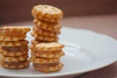 菠萝饼干 免版税库存照片