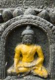 菩萨・尼泊尔雕象 库存图片