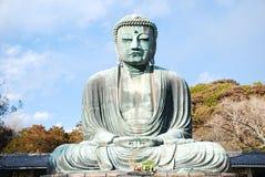 菩萨・日本雕象 免版税库存图片