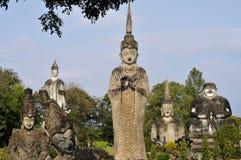 菩萨公园在老挝 图库摄影