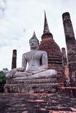菩萨历史公园sukhothai thaila 库存图片