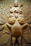 菩萨和孔雀 免版税库存图片
