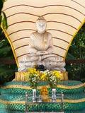 菩萨图象在仰光,缅甸 库存图片