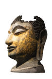 菩萨图象的头,泰国 免版税库存图片
