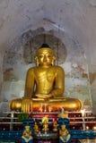 菩萨图象,在缅甸(Burmar)的Bagan 免版税库存图片