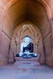 菩萨图象,在缅甸(Burmar)的Bagan 免版税库存照片