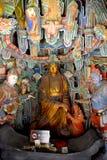 菩萨图象,垂悬的修道院,大同,中国 库存照片
