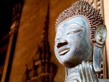 菩萨在老挝人的寺庙文化 免版税库存照片