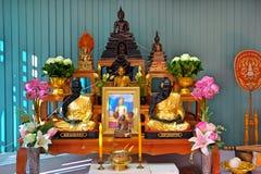 菩萨在仪式设置了 免版税库存图片