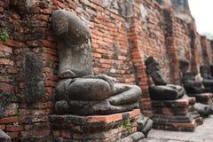 菩萨在Wat Mahathat 库存照片