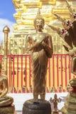菩萨在Wat Phra那土井素贴 库存图片