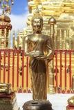 菩萨在Wat Phra那土井素贴 免版税库存图片