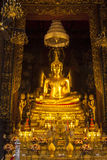 菩萨在Wat Phra那土井素贴 库存照片
