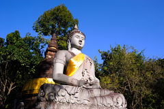 菩萨寺庙的图象在Saraburi 免版税库存图片