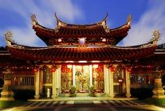 菩萨晚上寺庙视图 图库摄影