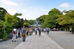 菩萨极大的日本镰仓 库存照片