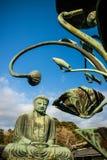 菩萨极大的日本 库存照片