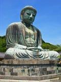菩萨极大的雕象 库存照片