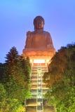 菩萨极大的香港地标 免版税图库摄影