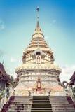 菩萨泰国寺庙Wat Prathat土井Saket 免版税库存照片