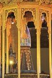 菩萨牙遗物塔,仰光,缅甸 免版税库存照片
