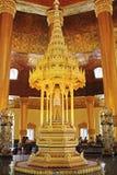 菩萨牙遗物塔,仰光,缅甸 图库摄影