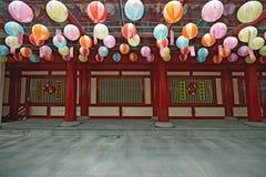 菩萨牙遗物寺庙在中国城镇新加坡 免版税库存图片