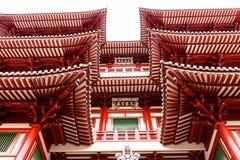 菩萨牙遗物寺庙在唐人街 库存照片