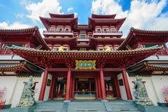 菩萨牙遗物寺庙,新加坡 免版税图库摄影