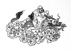 菩萨的图象 免版税库存图片