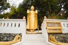 菩萨的图象louangprabang的 免版税库存照片
