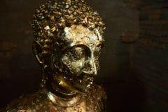 菩萨的金子图象 图库摄影