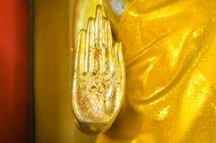 菩萨的金黄手 免版税库存图片