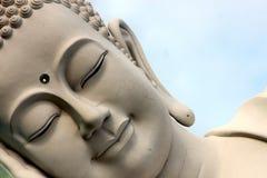 菩萨的面孔 免版税库存图片