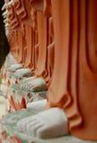 菩萨英尺马来西亚槟榔岛雕象 库存图片