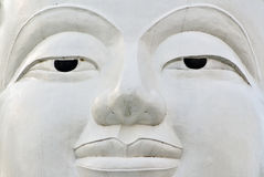 菩萨表面sukhothai泰国 免版税图库摄影
