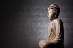 菩萨雕塑 库存图片