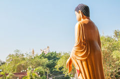 菩萨雕塑 免版税图库摄影