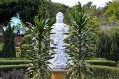 菩萨雕象在大叻市,越南 免版税库存图片