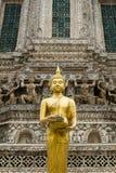 菩萨雕象在泰国 免版税库存照片