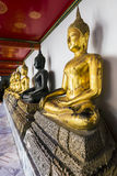菩萨雕象在泰国 库存图片