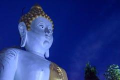 菩萨雕象在清迈泰国 库存照片