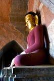 菩萨雕象在Bagan,缅甸 图库摄影