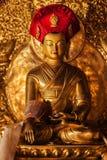 菩萨雕象在Lamayuru修道院,拉达克,印度里 免版税库存图片