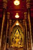 菩萨雕象泰国彭世洛 免版税库存图片