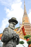 菩萨雕象泰国 库存图片
