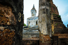 菩萨雕象泰国 图库摄影