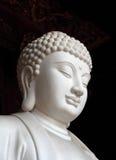 菩萨雕象白色 图库摄影