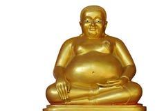 菩萨雕象视图 库存图片